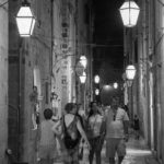 Strolling Through The Old Town by Naomi Ward