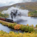 Steam at Black Tarn