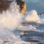 Stormy seas, Jurassic coast