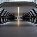 Following the Light - Adams Plaza Bridge by Brian Jones