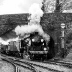 508 Leaving Alresford by Basil Groundsell