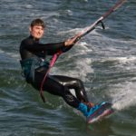 Windsurfer at Speed by David Mason