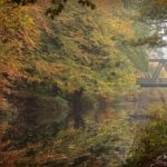 Autumn Ride by the Canal by Kathryn Graham