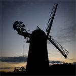 Windmill at Sunset by Ian Hardacre