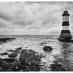 Penmon Lighthouse by Kathryn Graham