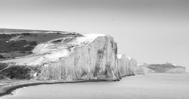 Winter Snow on the Seven Sisters by John Sturgeon